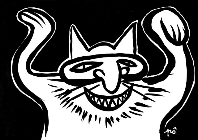 chat masqué - copie