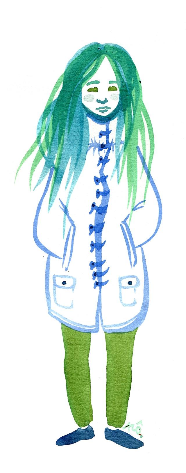 blue melancolia