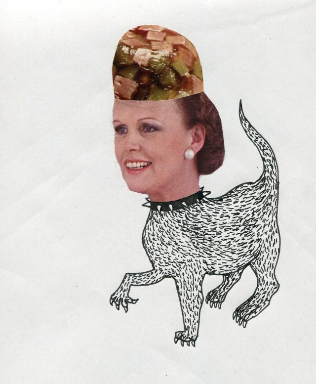femme chien cervo