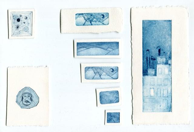 gravures miniatures