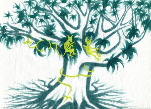 diables verts arbreA aleg