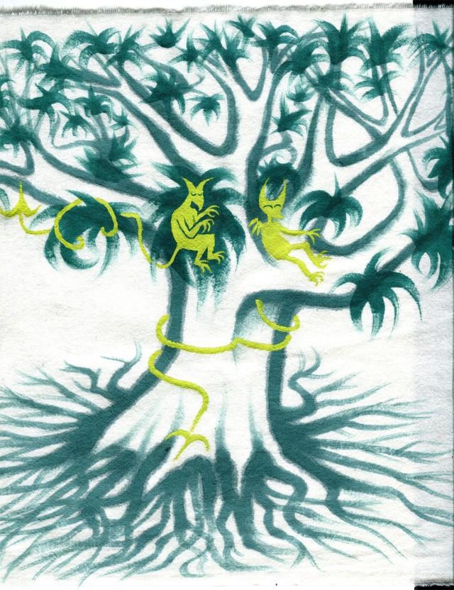diables verts arbreMaleg