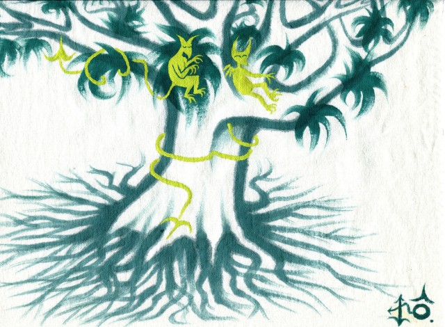 diables verts arbresign aleg