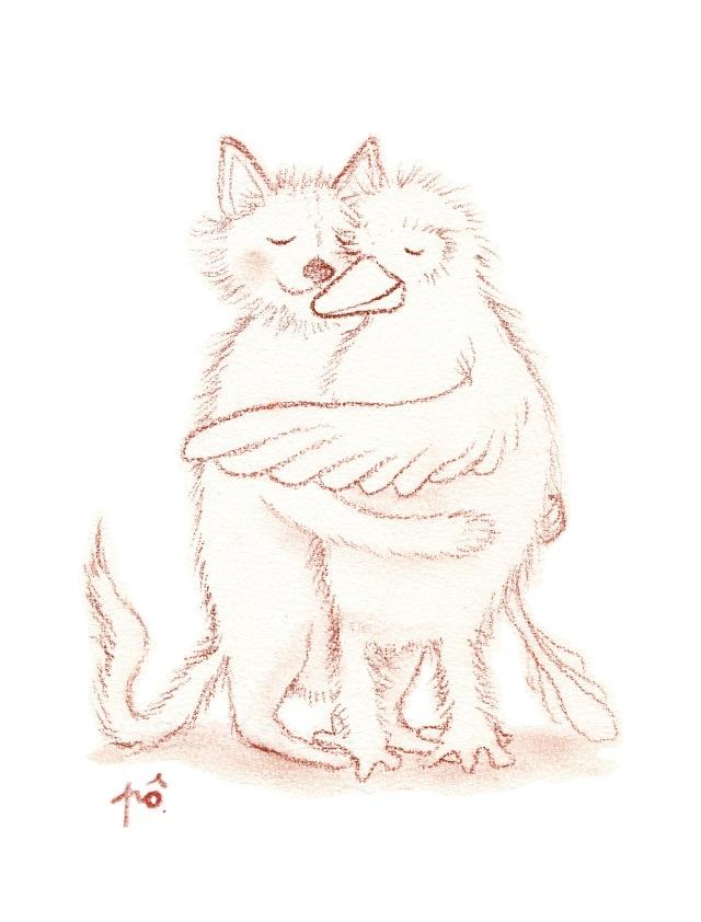 câlin chat ouazô